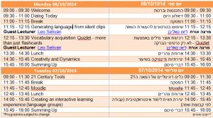 PD Oct 2014 Programme