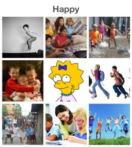 happy collage