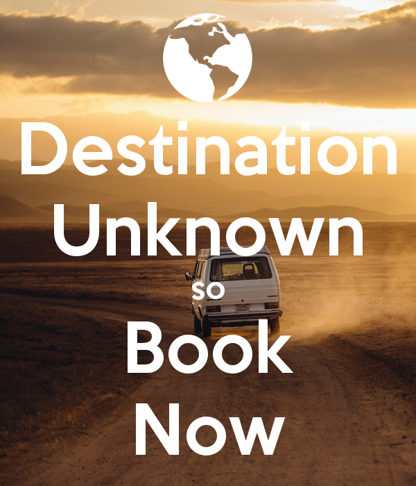 Travelling – Destination Unknown (a double 'Speaking' lesson